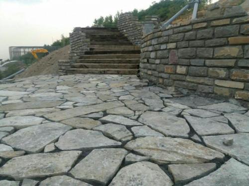 سنگ ورقه ای کوهی سنگفرش