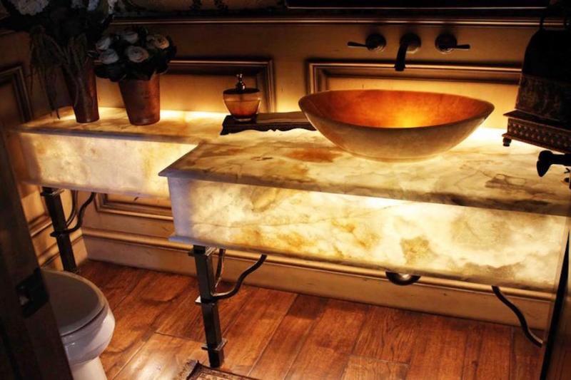 فروش انواع سنگ مرمر سرویس حمام
